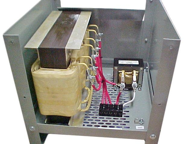 "Zig-Zag ""Zero Sequence"" Grounding Transformer Assembly, 600V, 20A/phase"